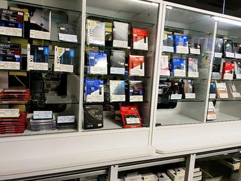 SSD売場