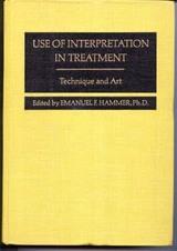 Use of Interpretation in Treatment