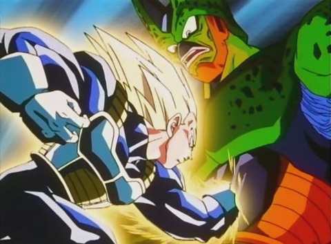 Vegeta_attacca_Cell