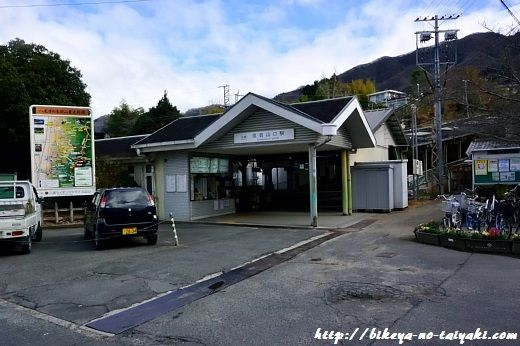 信貴山口駅
