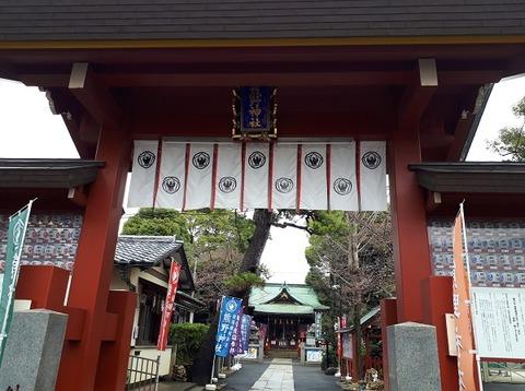 熊野神社神門