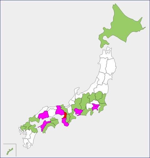 優勝都道府県