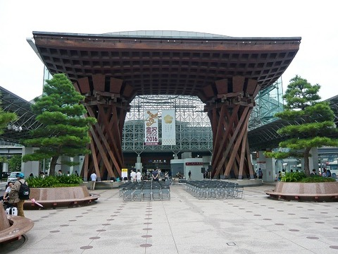 金沢駅鼓門