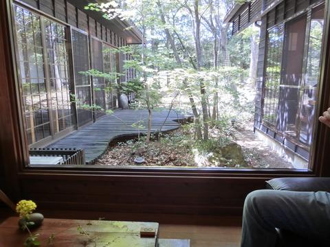 玄関からの風景