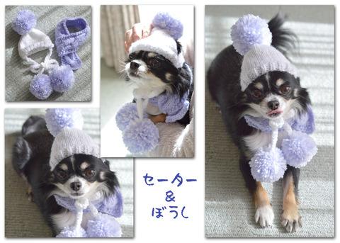 セーター&帽子