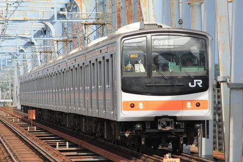 武蔵野線205系@三郷
