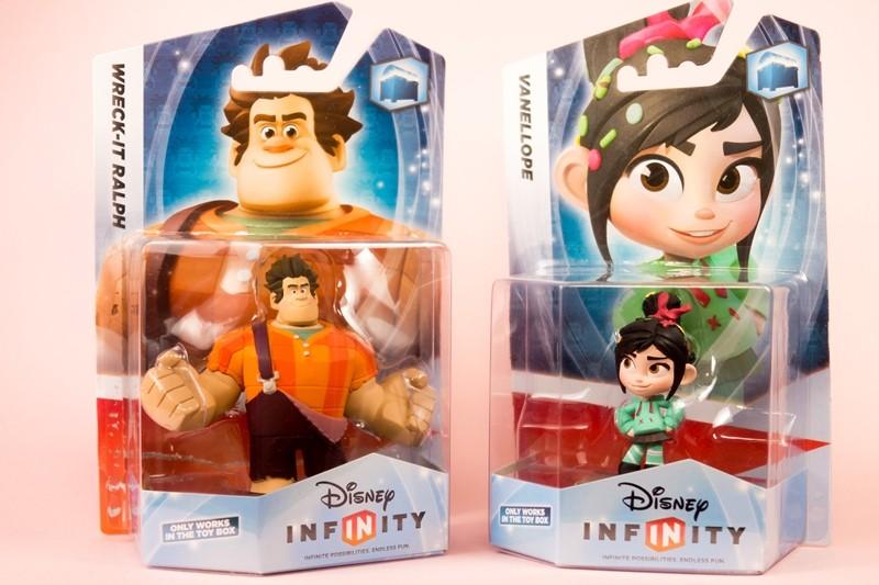 というわけで今回は、WiiU用ソフト「Disney INFINITY」より、追加購入キャラ「ラルフ」&「ヴァネロペ」です。  最初にお断りしておきますが、せとたま