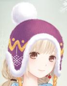 冬の日帽子