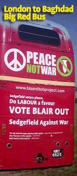 2005/5/5、イギリス総選挙・労働党には騙されないよ。ブレアを落とせ。