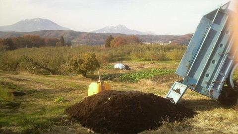 畑の土壌改良4