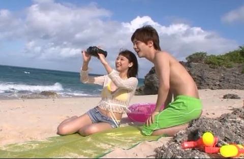 秋山祥子と恋人気分でラブハメ旅行2