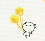 てるてる花