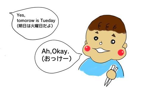 火曜日?2