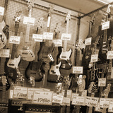 大手楽器店