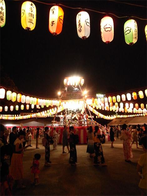 祐天寺の盆踊り