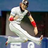 好走塁で逆転のホームインをした日本ハム新庄剛志選手
