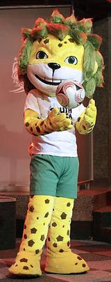 2010年W杯キャラクター『ザクミ』