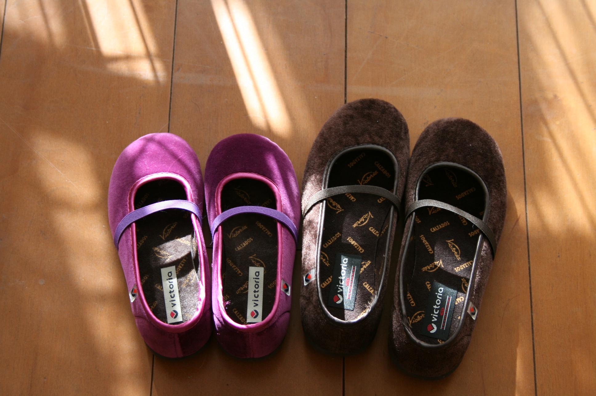 ヴィクトリアの靴