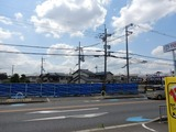 5月25日CP前空き地建設工事