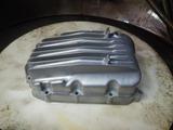 CB400国内398ccCP25号機オイルパン、フィルターケース取り付け (3)