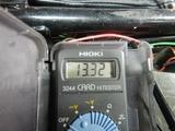 半袖一家Y様CB400F発電、充電チェック (12)