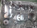 ジャイアン号エンジンカバー類純正風塗装完了 (1)