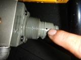 ウエットブラストレギュレーターからエアー漏れ (4)
