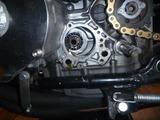 黄色い町乗りエンジンオイルポンプ交換 (2)
