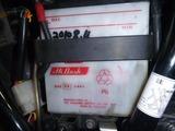 2号機バッテリー充電 (1)