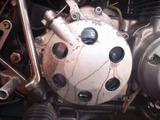 1号機乾式クラッチオイル漏れ修理160810 (1)