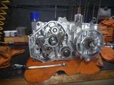 まっきーレーサー用エンジン腰下組立て (5)