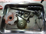 高知U号エンジン組み立て準備下拵え200917 (2)