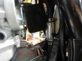 名古屋I様CB400CRキャブワイヤー取り付け方法加工 (4)