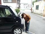 車のホーン取付け (2)
