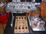 嵐のヨンフォアエンジン組立て下拵え (1)