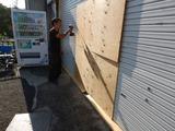 シャッター補強撤去工事181009 (2)
