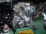 3号機エンジン組立て完了 (1)