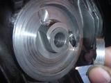 T口号オイルクーラー取出し口修理 (1)