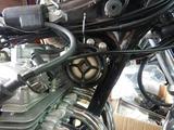 CB400F国内708cc高槻S様手裏剣カバーホーン取り付け (2)