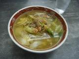 昼食は四川ラーメン