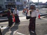 三栗の獅子舞 (1)