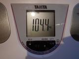 190316の体重