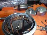 レーサーエンジン用セルモーター組立て (8)
