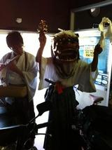 三栗の獅子舞20120925