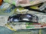 京都K様CB400部品チェックと仮組201230 (1)