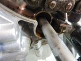 大阪T様CB400Fオイル漏れ修理210720 (6)
