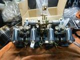 CB400国内398cc25号機用キャブレター組み立て (6)