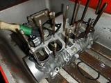 まっきーレーサーエンジンアッパーケース下拵え (3)