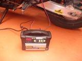 CB400SFバッテリー充電完了