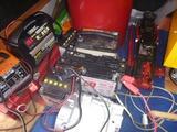GS400新品バッテリー充電中